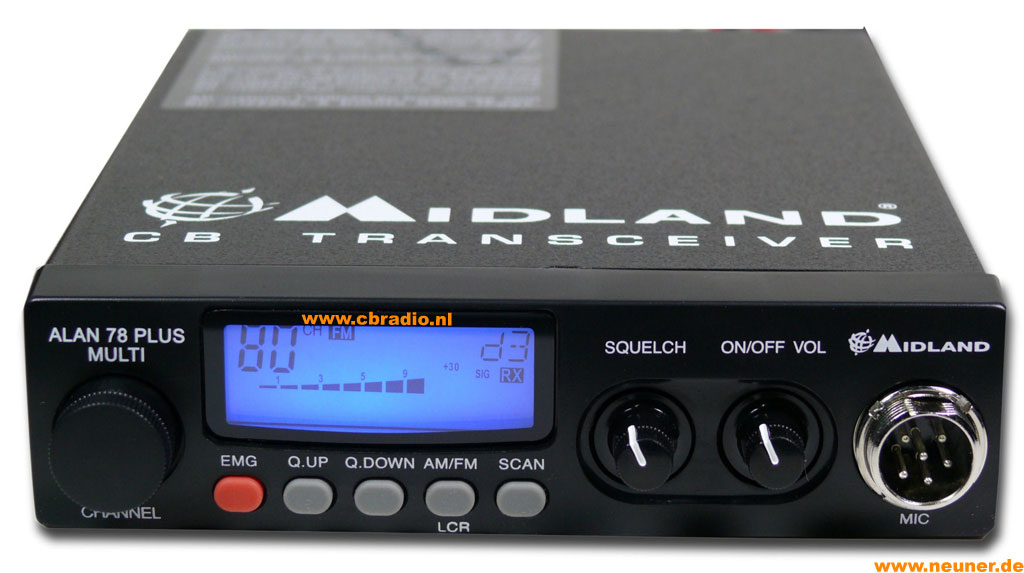 MIDLAND ALAN 78 PLUS MULTI USER MANUAL Pdf Download.