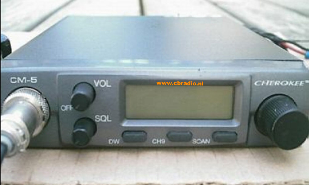 www.cbradio.nl: Picture and Specifications of the Cherokee CM-5 ...