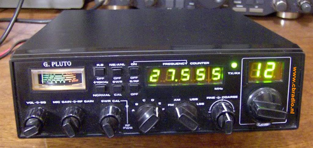 Galaxy pluto radio