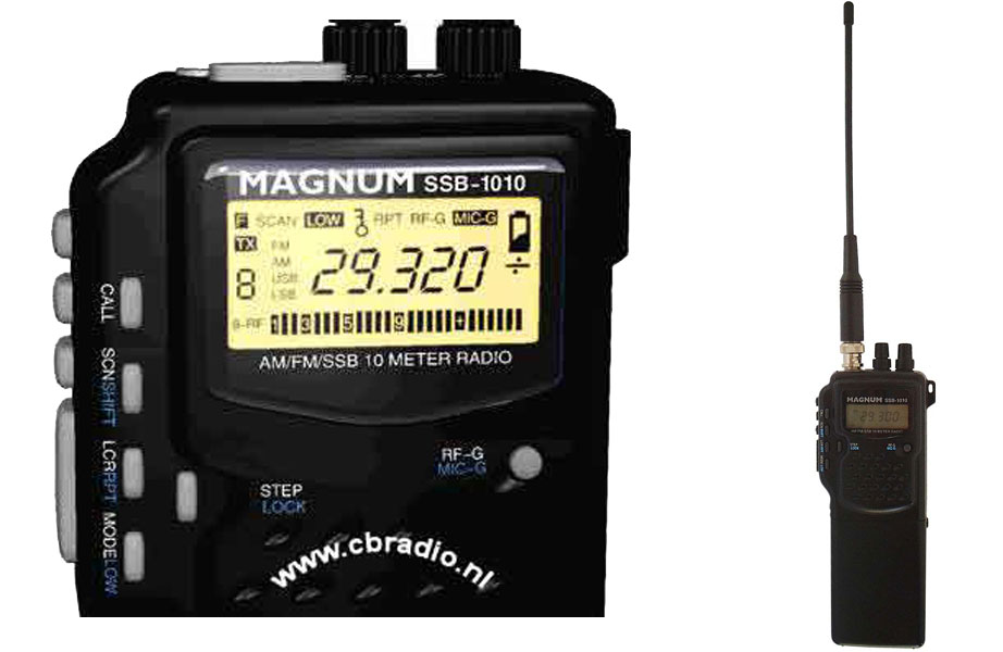 Handheld cb radio with ssb