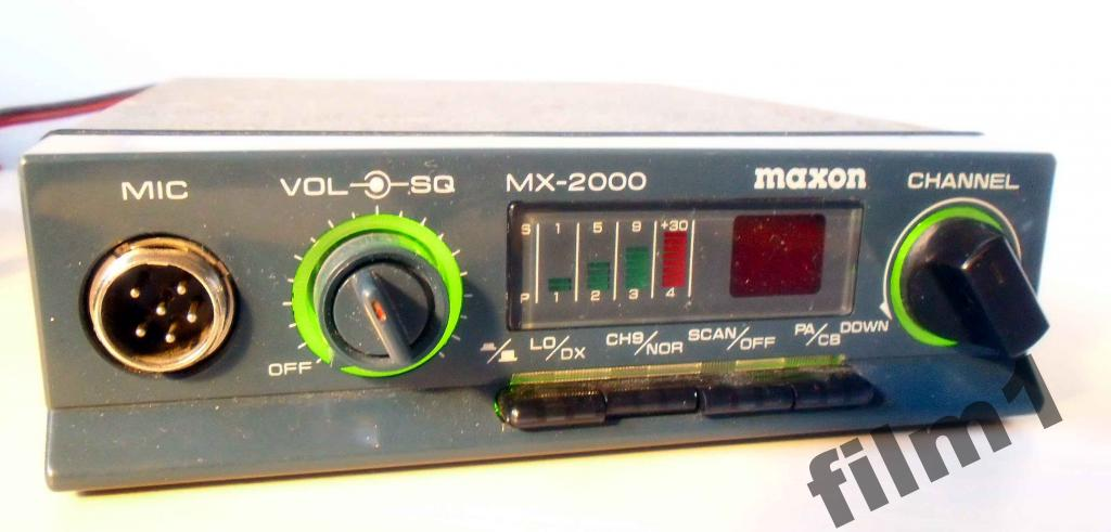 www.cbradio.nl: Pictures and Specifications Maxon MX-2000 FM CB- Radio