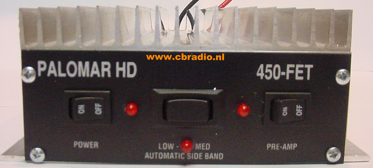 www cbradio nl: Pictures and Specifications Palomar HD 450FET Mobile