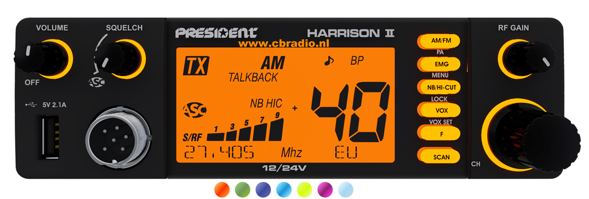 www cbradio nl: Pictures and Specifications of the President
