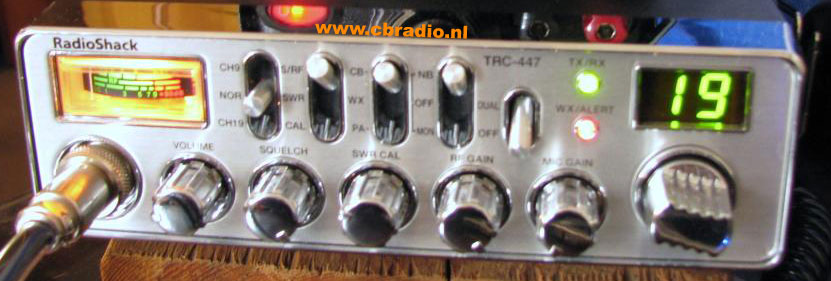 www.cbradio.nl: Picture and Specifications of the Radioshack TRC ...