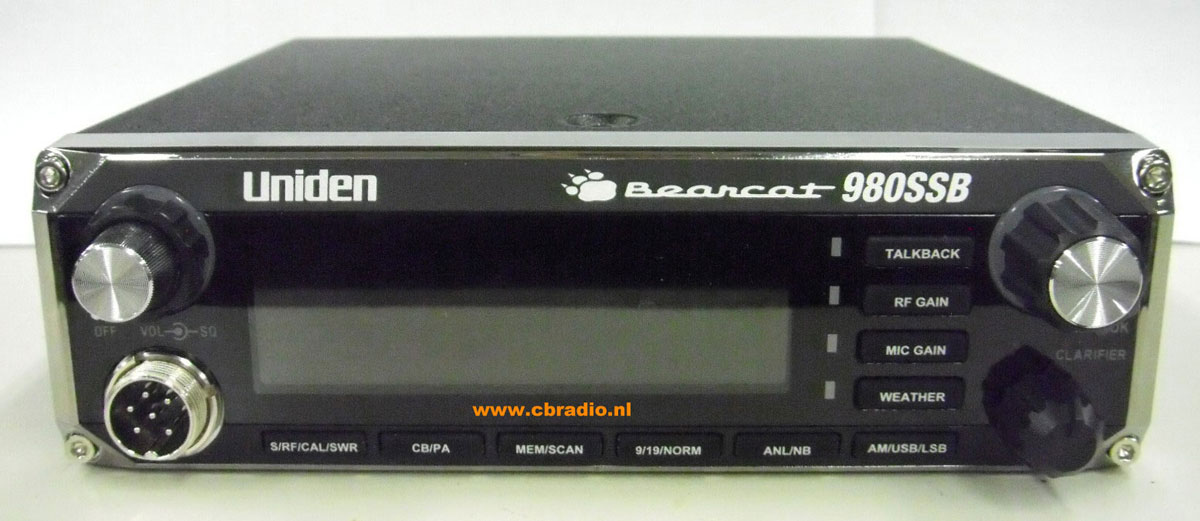 Cbradio Nl  Pictures  Manual And Specifications Uniden Bearcat 980ssb Cb