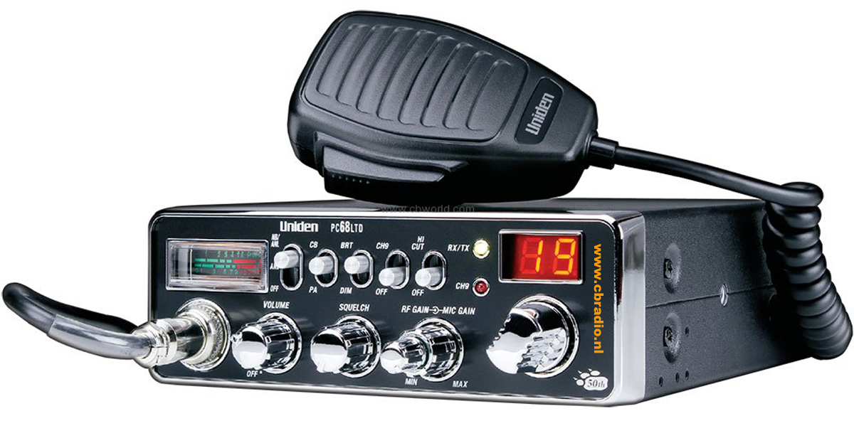 www cbradio nl: Pictures, Manuals and Specifications of the Uniden
