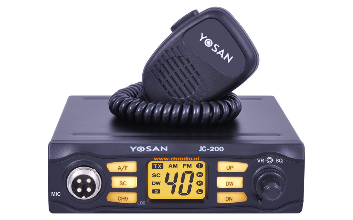 www cbradio nl: Pictures, Manuals and Specifications of the Yosan CB